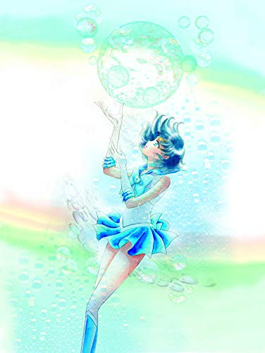 Sailor Moon Bunkobon version vol. 2 cover - Sailor Mercury