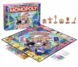 Sailor Moon Monopoly - Board