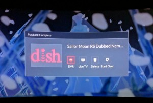 Sailor Moon S Dish Network playback issues