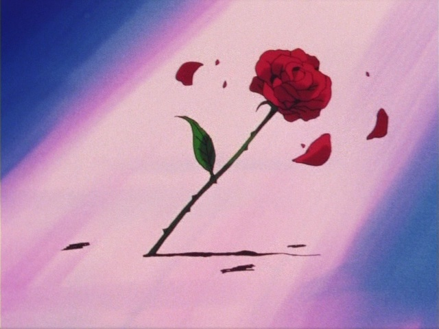 Sailor Moon episode 1 - A rose appears