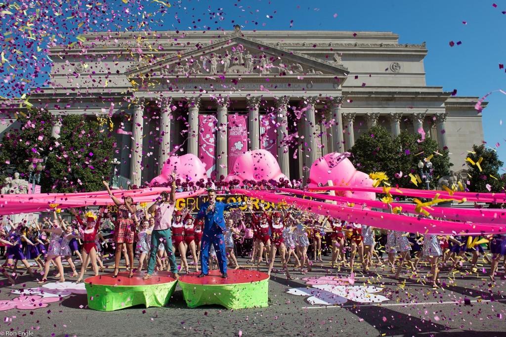 The National Cherry Blossom Festival in Washington D.C.