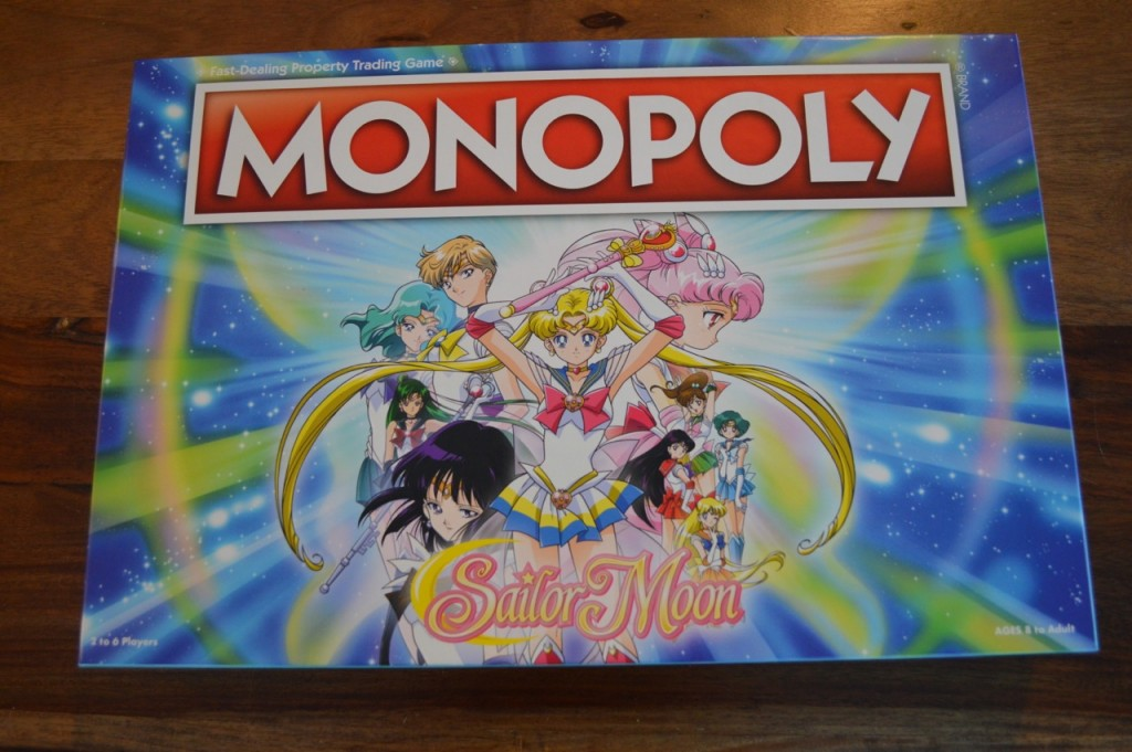 Sailor Moon Monopoly - Box