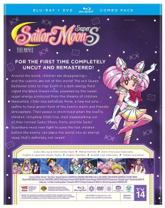 Sailor Moon SuperS The Movie - Back