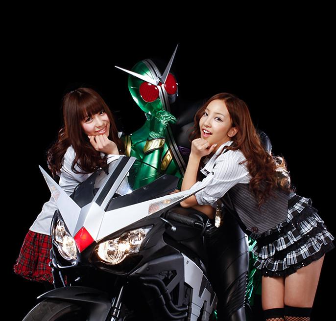 Tomomi Kasai as Elizabeth in Kamen Rider W