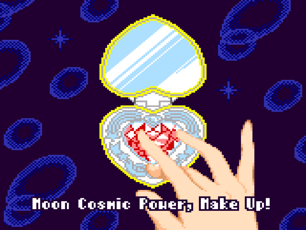 Pretty Guardian Sailor Moon S for Sega Game Gear - Subtitled - Moon Cosmic Power, Make Up!