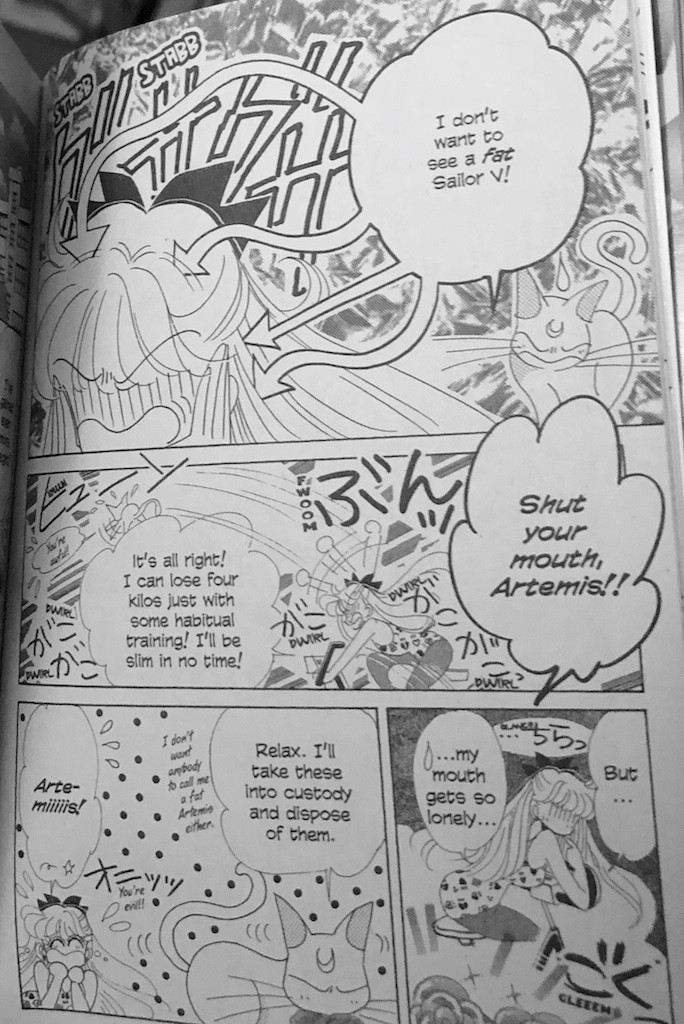Codename Sailor V Volume 9 - Minako gains weight