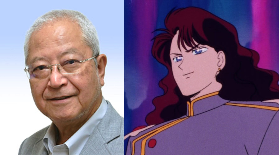 Katsuji Mori, the voice of Nephrite