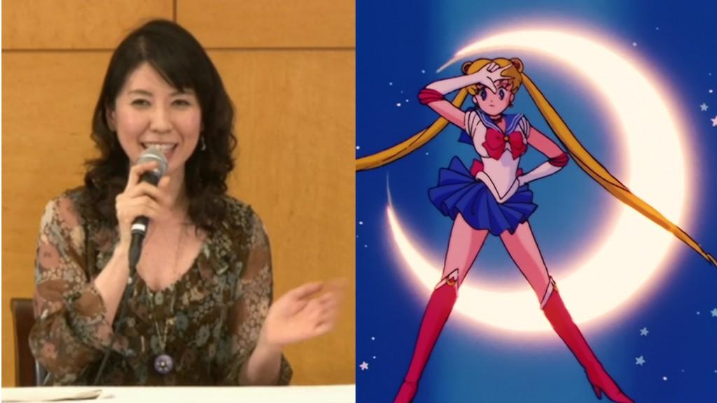 Kotono Mitsuishi, the voice of Sailor Moon