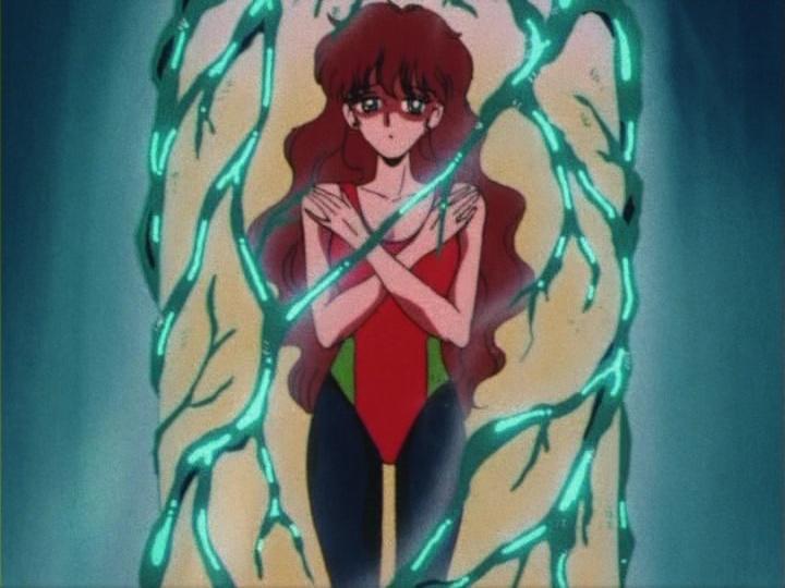 Sailor Moon episode 4 - Haruna losing weight