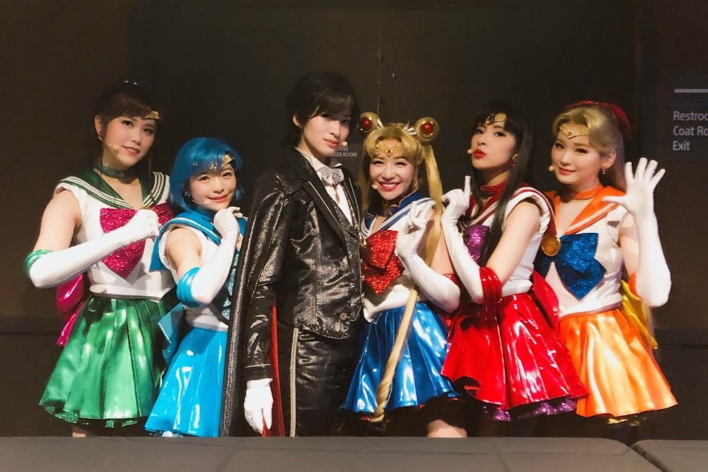 Sailor Moon The Super Live - Team America cast