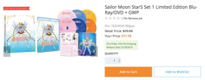 Sailor Moon StarS vol. 1