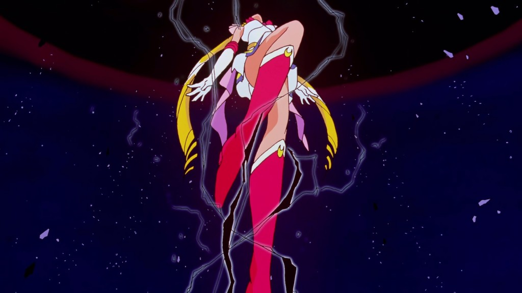 Sailor Moon enters the Black Dream Hole