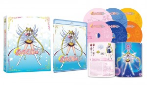 Sailor Moon Sailor Stars Blu-Ray contents
