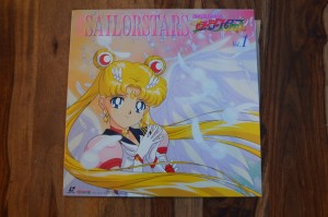 Sailor Moon Sailor Stars vol. 1 Laserdisc