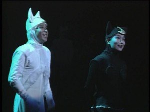 Artemis and Luna from the Summer 1993 Sailor Moon musical