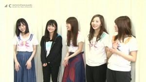 Nogizaka46 x Sailor Moon musical Blu-Ray - Bonus features - Team Moon Cast playing a game of charades