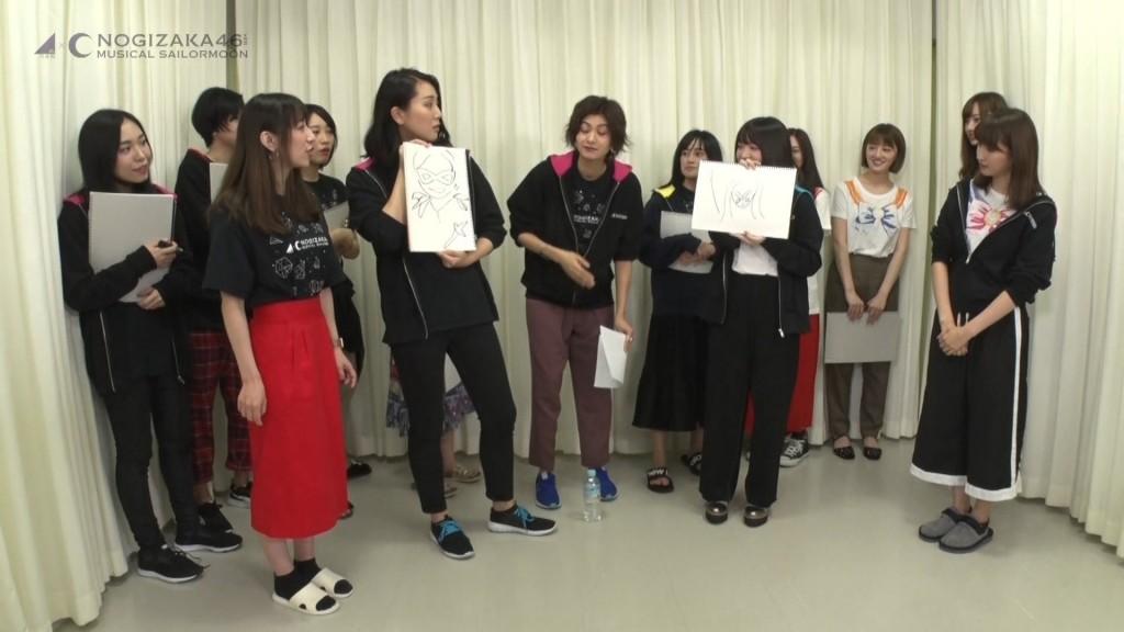 Nogizaka46 x Sailor Moon musical Blu-Ray - Bonus features - Team Star Game