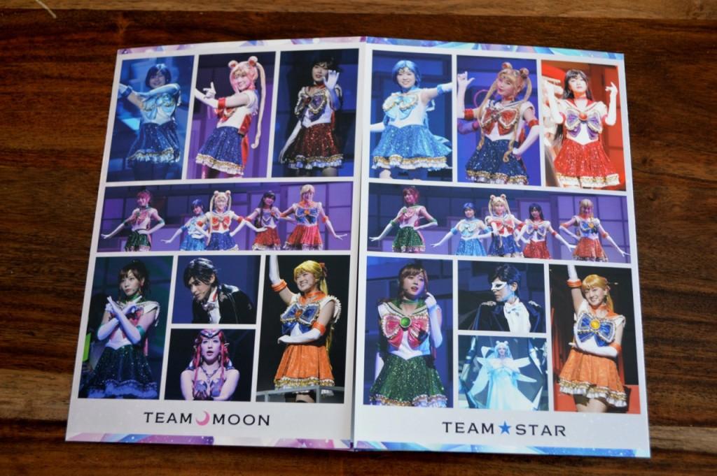 Nogizaka46 x Sailor Moon musical Blu-Ray - Insert - Team Moon and Team Star