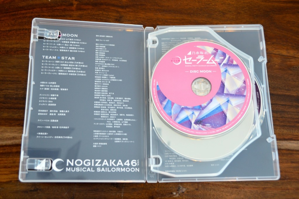 Nogizaka46 x Sailor Moon musical Blu-Ray - Inside
