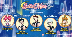 Sailor Moon Sailor Stars Dub Voice Actors