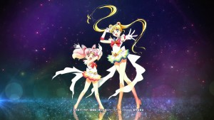 Sailor Moon Eternal - Super Sailor Chibi Moon and Super Sailor Moon