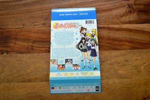 Sailor Moon Sailor Stars Part 1 Blu-Ray - Back cover