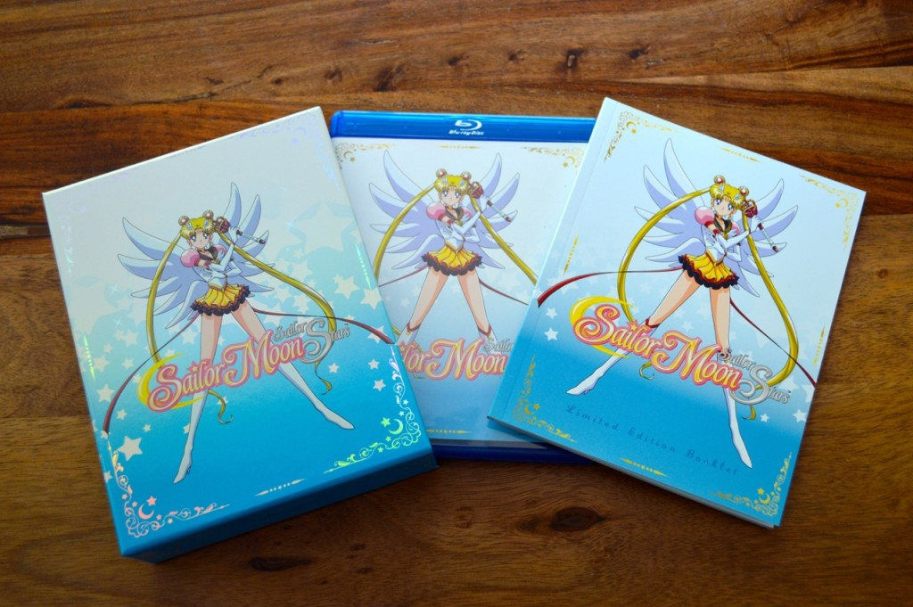 Sailor Moon Sailor Stars Part 1 Blu-Ray - Contents