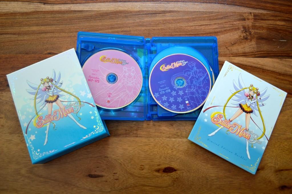 Sailor Moon Sailor Stars Part 1 Blu-Ray - Blu-Ray opened