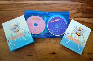 Sailor Moon Sailor Stars Part 1 Blu-Ray - Blu-Ray opened