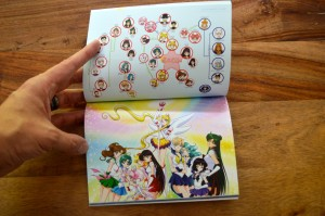 Sailor Moon Sailor Stars Part 1 Blu-Ray - Booklet - Relationship diagram
