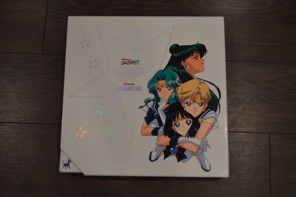 Sailor Moon Sailor Stars Laserdisc - Box back