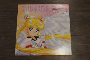 Sailor Moon Sailor Stars Laserdisc - Volume 1 - Eternal Sailor Moon
