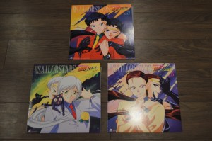 Sailor Moon Sailor Stars Laserdisc - Volumes 3, 4 and 5 - The Sailor Starlights and the Three Lights