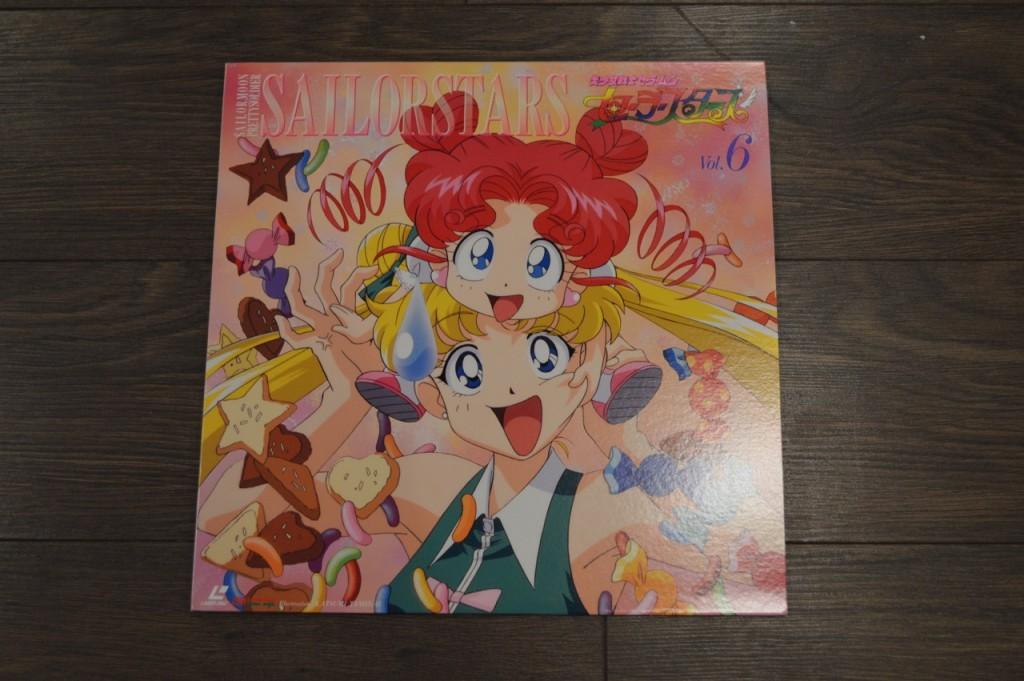 Sailor Moon Sailor Stars Laserdisc - Volume 6