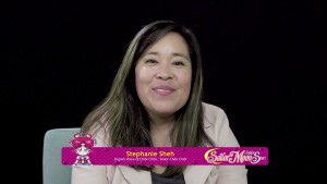 Sailor Moon Sailor Stars Viz Blu-Ray - Interview with Stephanie Sheh, the voice of Chibi Chibi