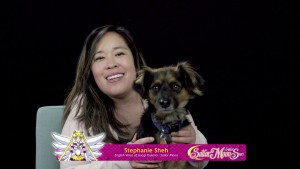Sailor Moon Sailor Stars Viz Blu-Ray - Interview with Stephanie Sheh, the voice of Usagi
