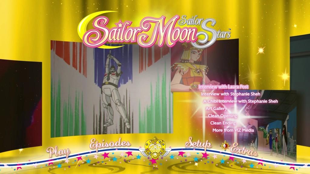 Sailor Moon Sailor Stars Viz Blu-Ray - Special features