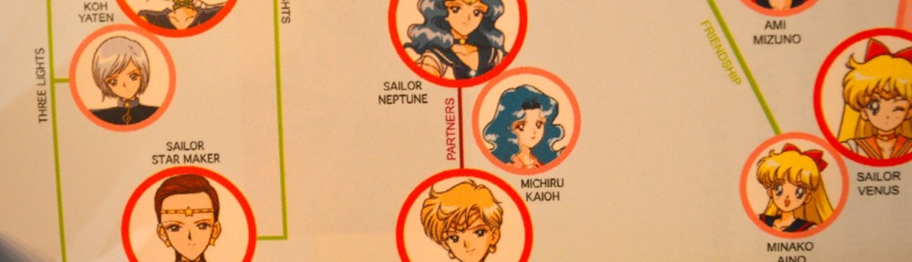 Sailor Moon Sailor Stars Blu-Ray Limited Edition Booklet - Replacement - Sailor Uranus and Neptune are Partners
