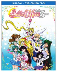 Sailor Moon Sailor Stars Part 2 - Blu-Ray cover