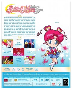 Sailor Moon Sailor Stars Part 2 - Blu-Ray back