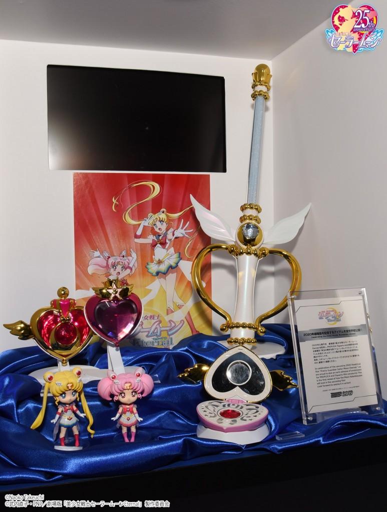 Tamashii Nation 2019 - Sailor Moon Eternal PROPLICA and Figuarts Mini