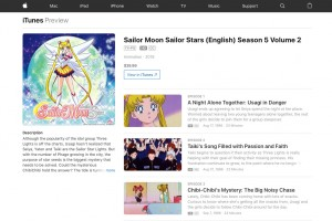 Sailor Moon Sailor Stars Part 2 on iTunes