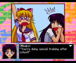 Pretty Solder Sailor Moon - PC Engine - Minako as Artemis
