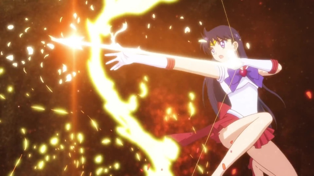Sailor Moon Eternal trailer - Sailor Mars