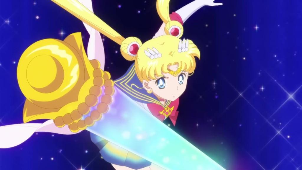 Sailor Moon Eternal trailer - Super Sailor Moon