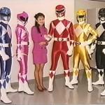 Naoko Takeuchi with the Zyurangers