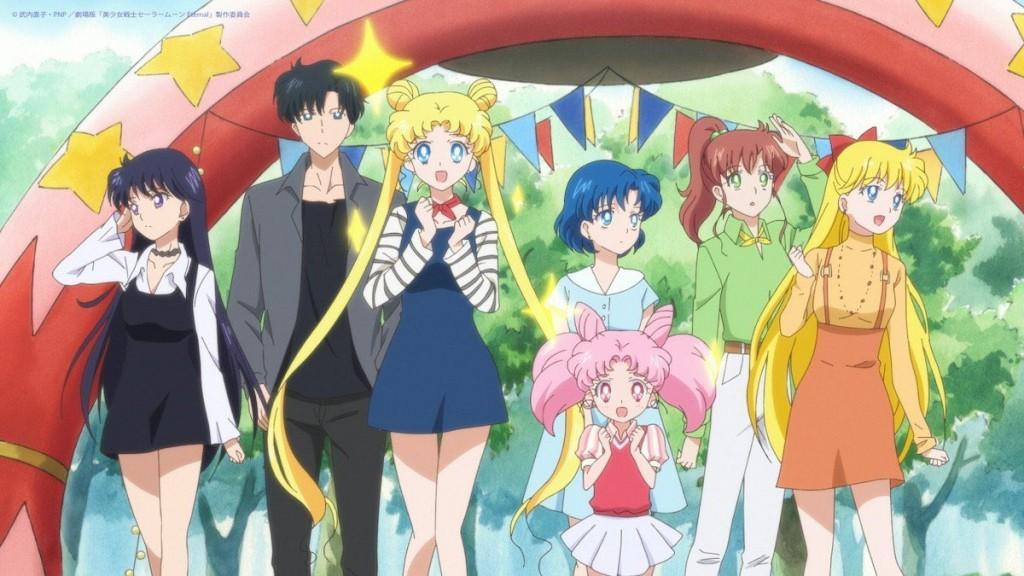 Sailor Moon Eternal - Rei, Mamoru, Usagi, Ami, Chibiusa, Makoto and Minako