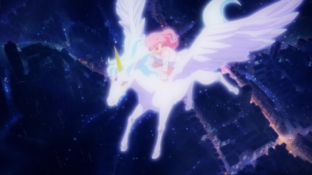 Sailor Moon Eternal trailer - Chibiusa and Pegasus