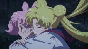 Sailor Moon Eternal trailer - Chibiusa and Usagi