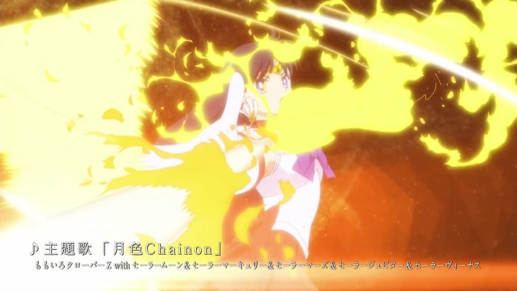 Sailor Moon Eternal trailer - Sailor Mars
